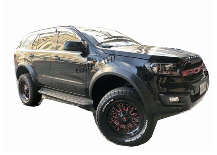 الصين OEM 2016 2019 Ford Everest Slim Wheel Arch Flare Smooth Black مصنع